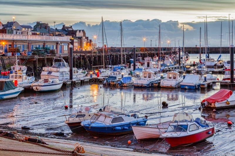 Port Yorkshire est R-U de Bridlington photos stock