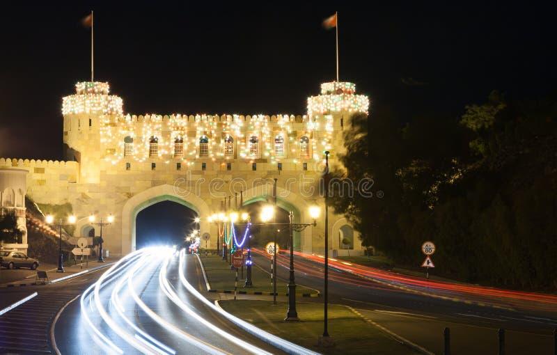 Download Porta à Cidade Velha De Muscat, Omã Imagem de Stock - Imagem de estrada, muscat: 65577421