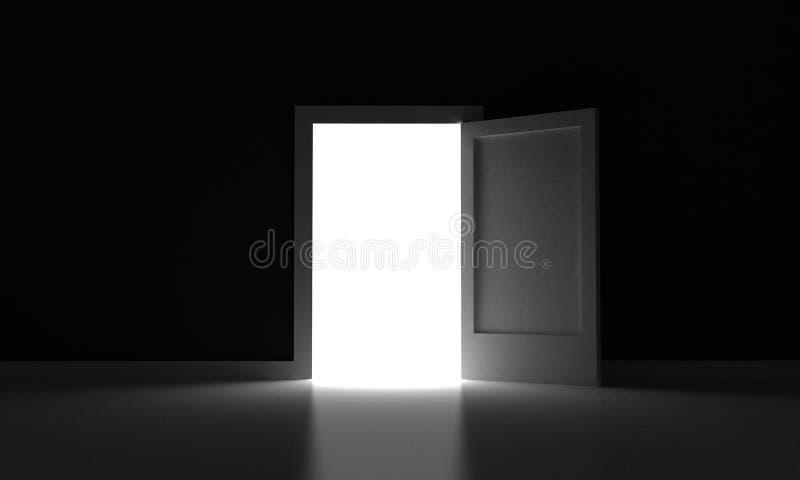 A porta ilustração do vetor