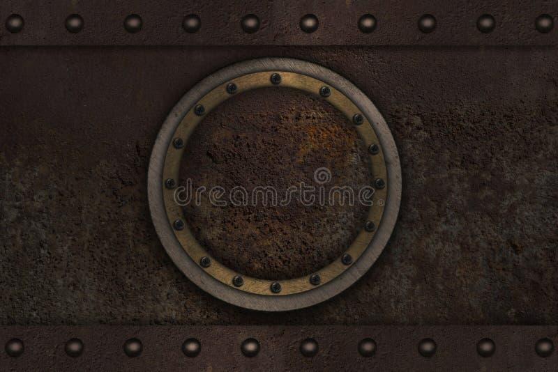 Porta acorazada submarina foto de archivo