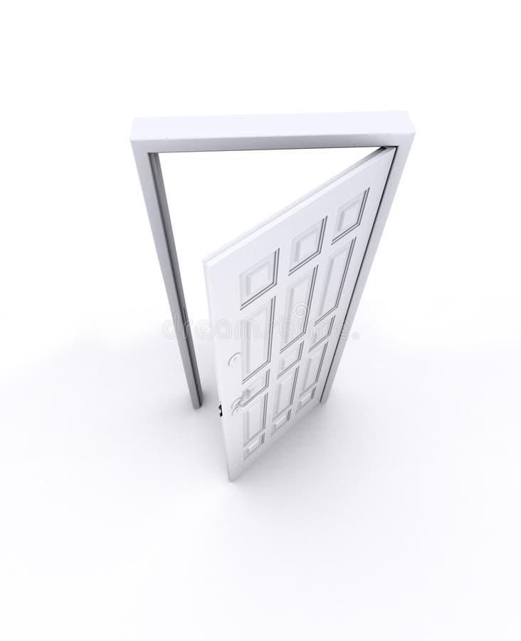 Porta aperta illustrazione vettoriale