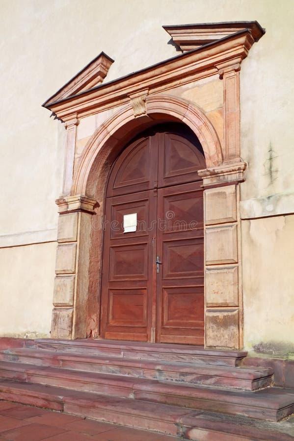 Porta barroca adiantada fotos de stock royalty free