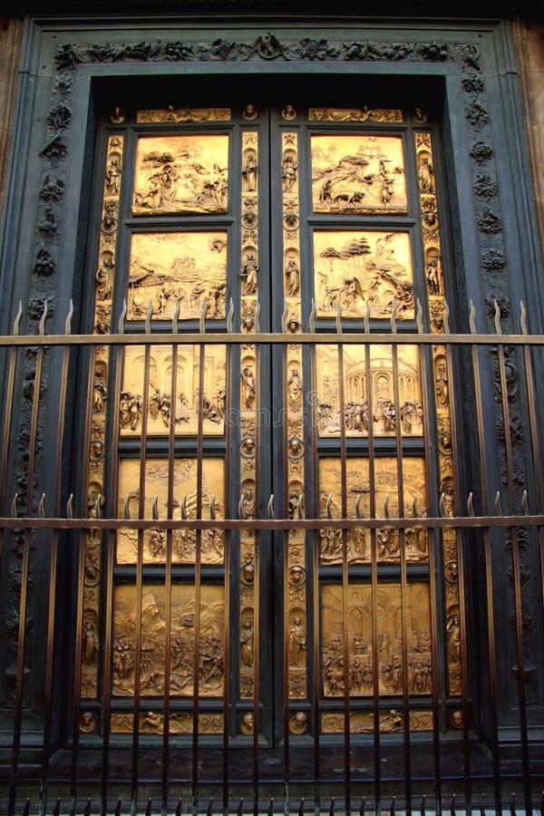 Porta battistero zdjęcie royalty free