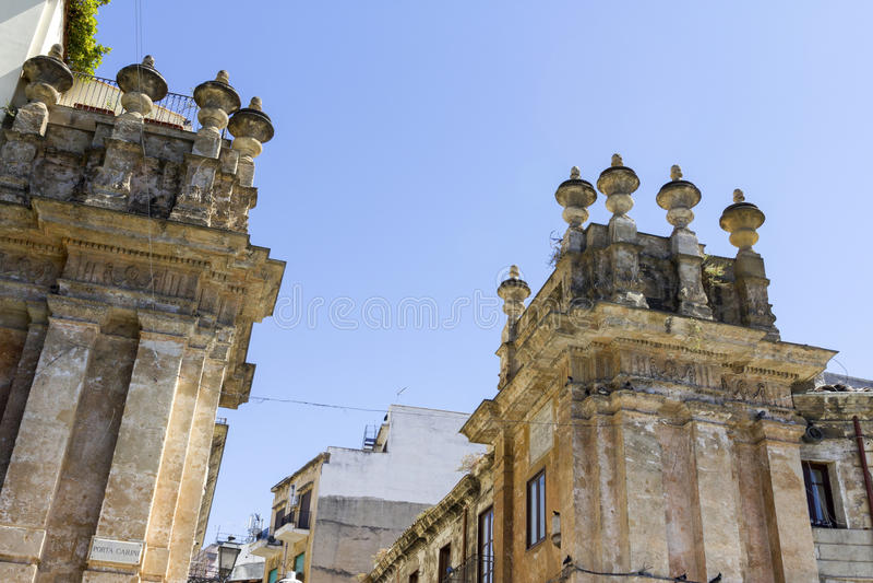 Porta Carini στοκ φωτογραφία