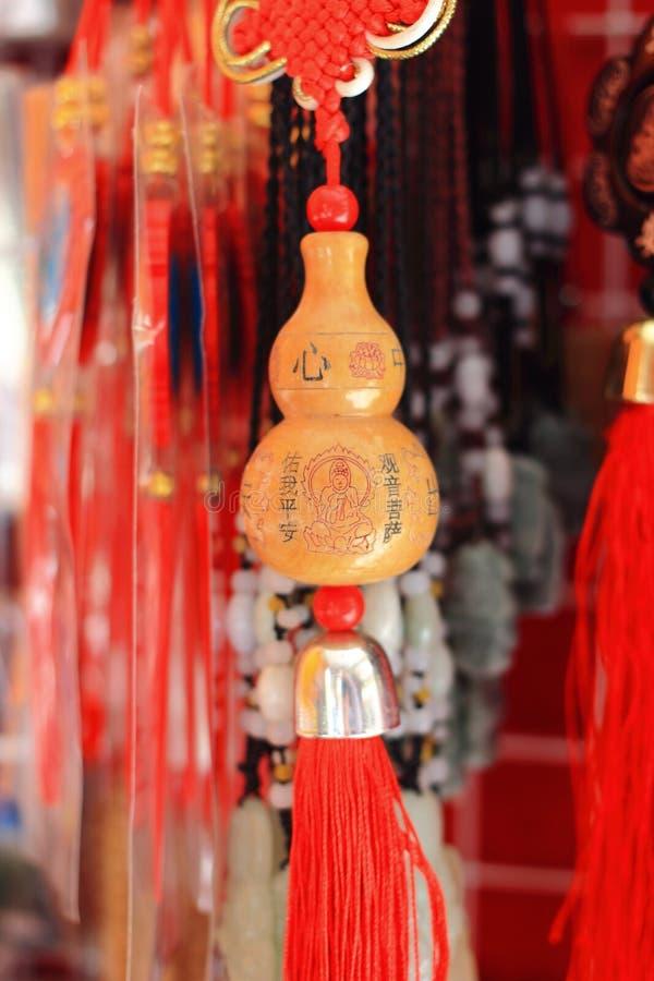 Porta-chaves seca da cabaça de garrafa foto de stock royalty free
