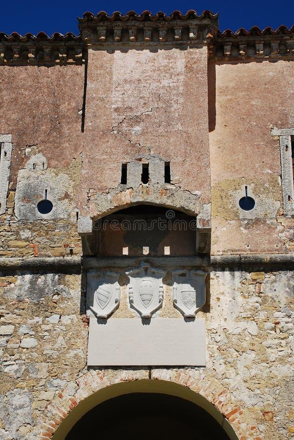 Porta da cidade de Motovun foto de stock