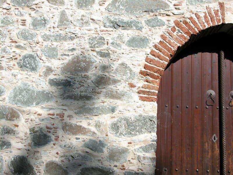 Porta da igreja fotos de stock royalty free