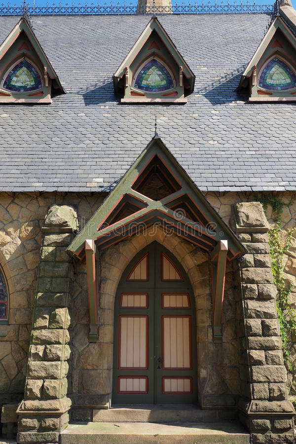 porta da igreja imagem de stock royalty free