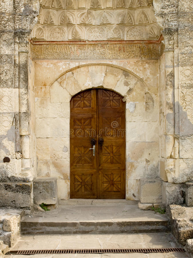 Porta da mesquita imagens de stock royalty free
