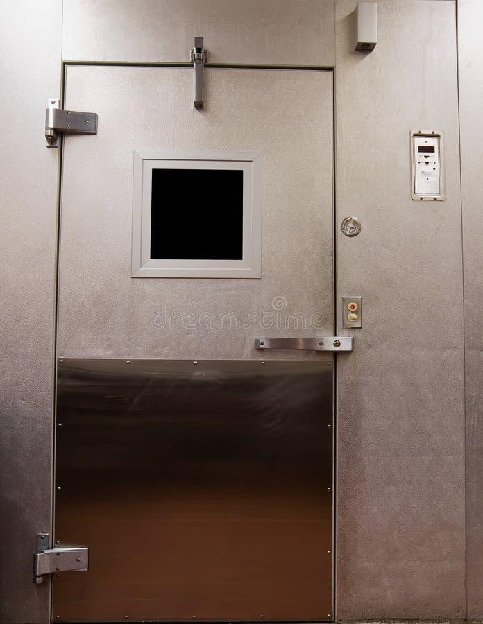 Porta da unidade de Refrigeration foto de stock royalty free