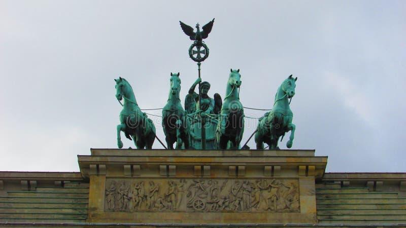 A porta de Brandebourg imagem de stock royalty free