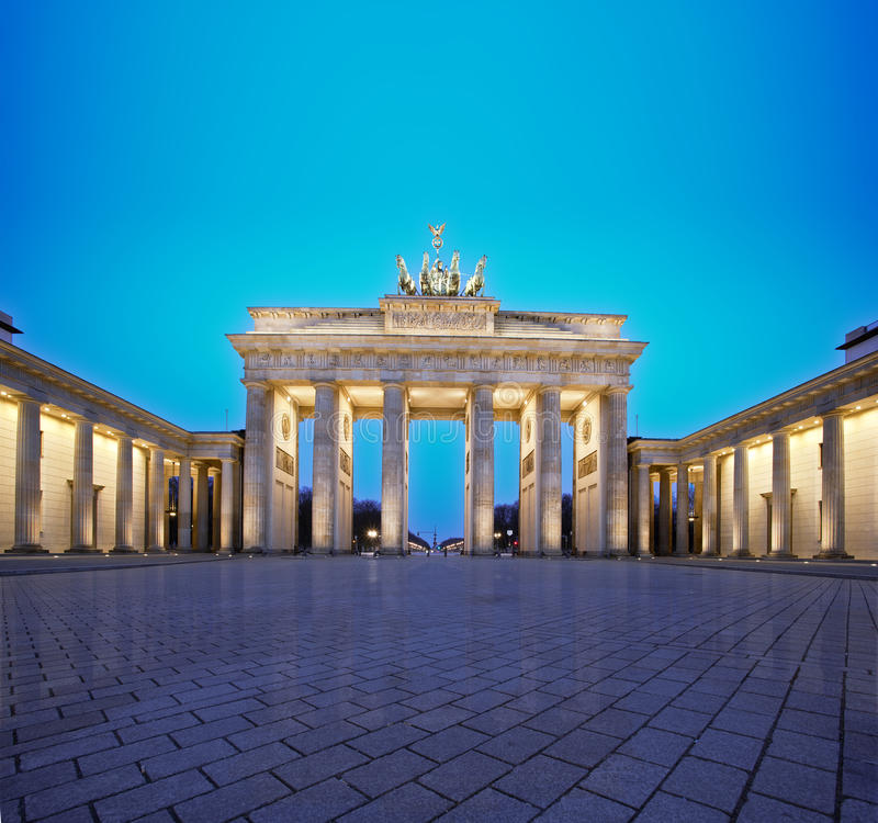 Porta de Brandebourg, Berlim imagens de stock royalty free