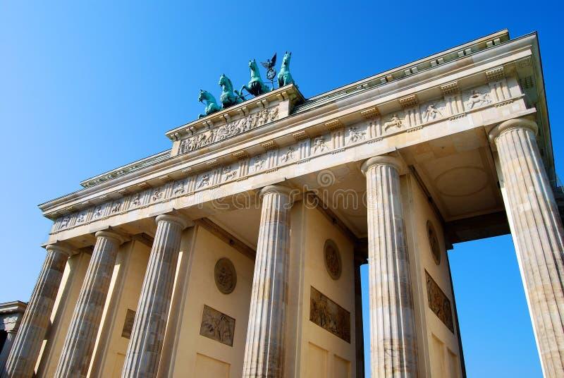 Porta de Brandebourg, Berlim fotos de stock royalty free