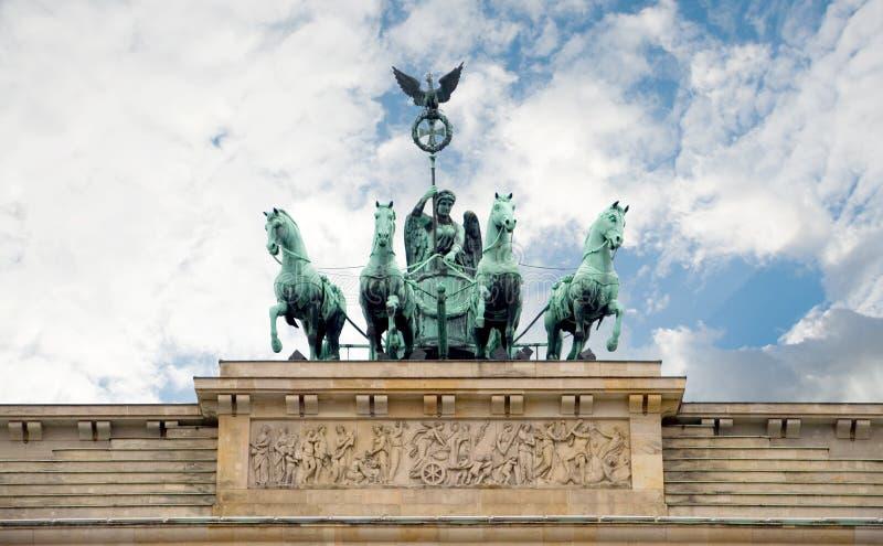 Porta de Brandebourg, Berlim, Alemanha fotos de stock