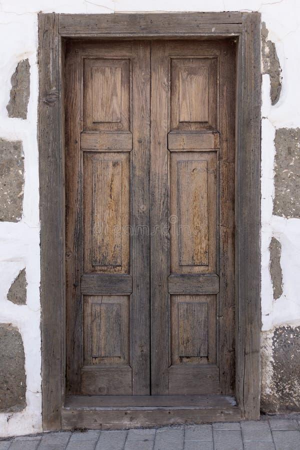 Porta de Brown em Gran Canaria, Espanha imagem de stock