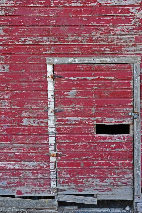 Porta de celeiro fotografia de stock