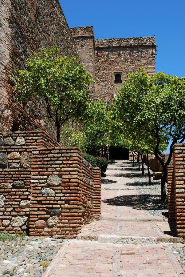 Porta de Christs, Alcazaba de Malaga, Spain. fotos de stock
