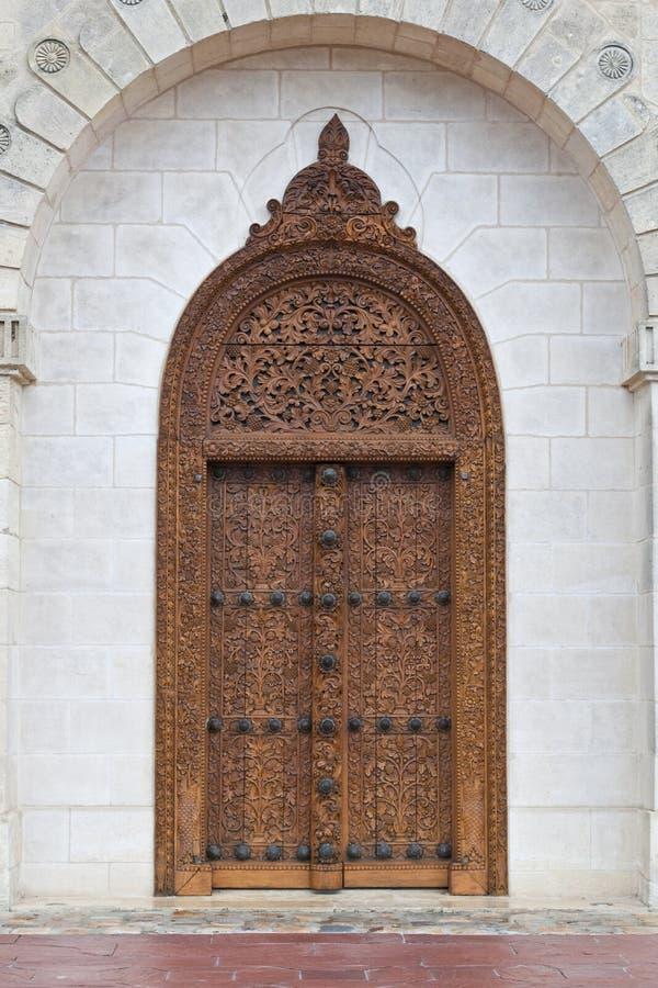 Porta de entrada do castelo Cos D Estournel fotografia de stock royalty free