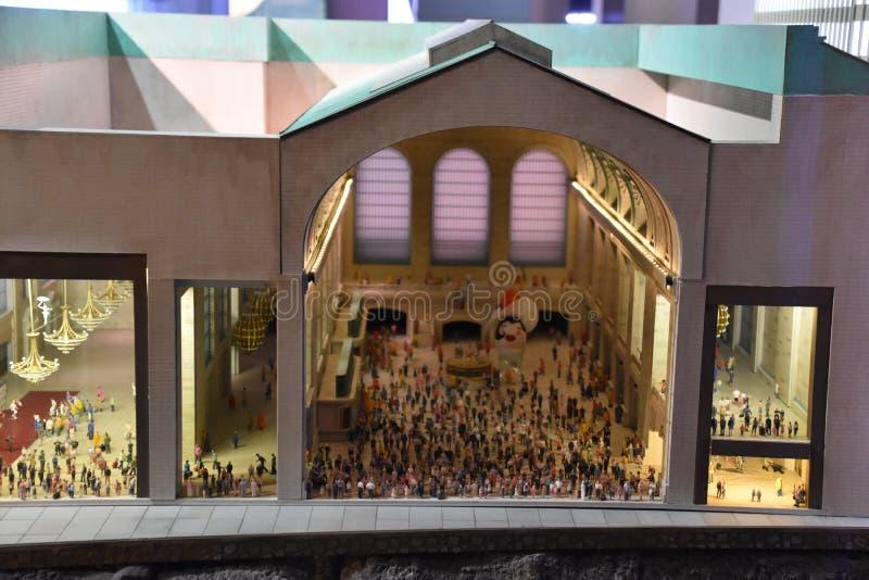 A porta de Gulliver em Manhattan, New York fotos de stock royalty free