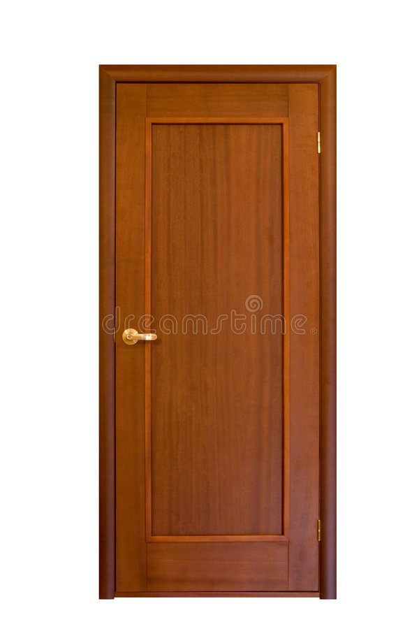 Porta de madeira #7 fotografia de stock royalty free