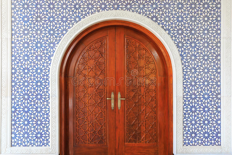 Porta de Masjid foto de stock royalty free