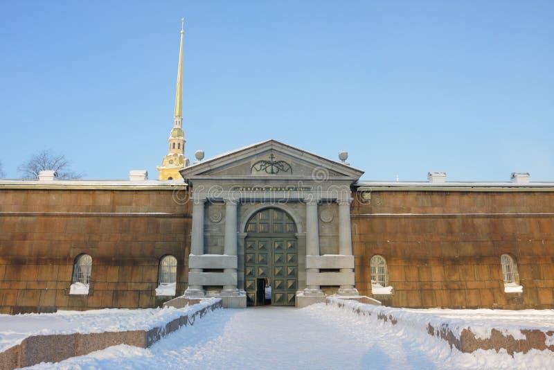 A porta de Neva imagens de stock
