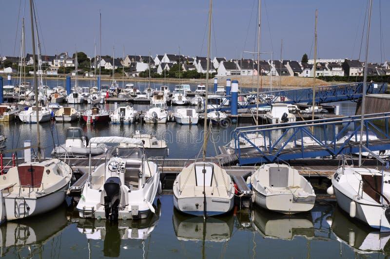 Porta de Port Louis em Brittany em France imagem de stock