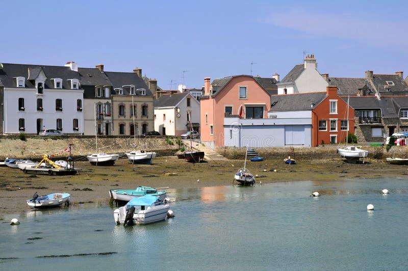 Porta de Port Louis em Brittany em France fotos de stock royalty free