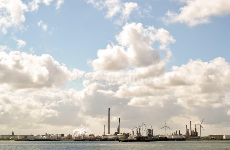 Porta de Rotterdam imagens de stock royalty free