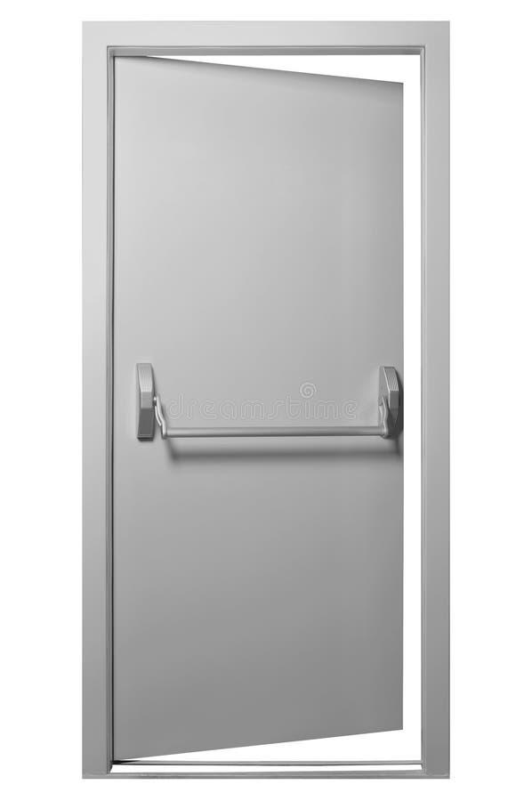 Porta de saída da emergência imagens de stock
