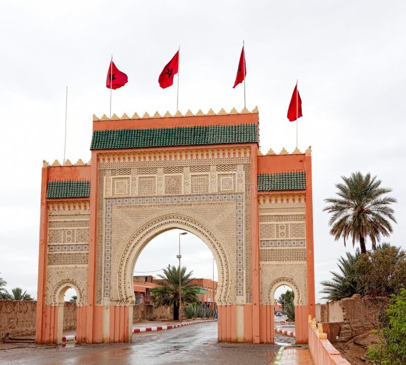 Porta de Sahara foto de stock