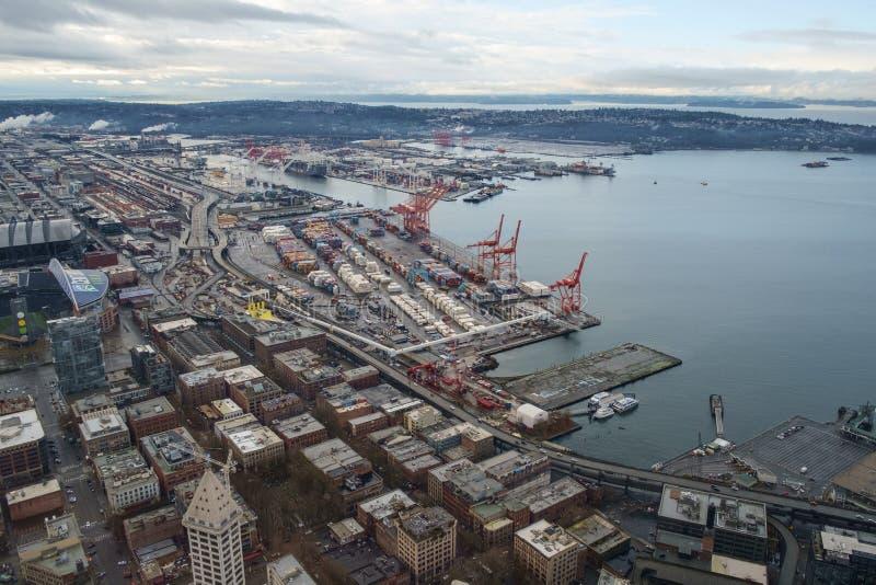 Porta de Seattle fotografia de stock royalty free