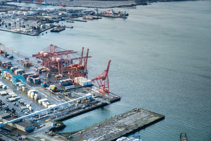 Porta de Seattle imagens de stock royalty free
