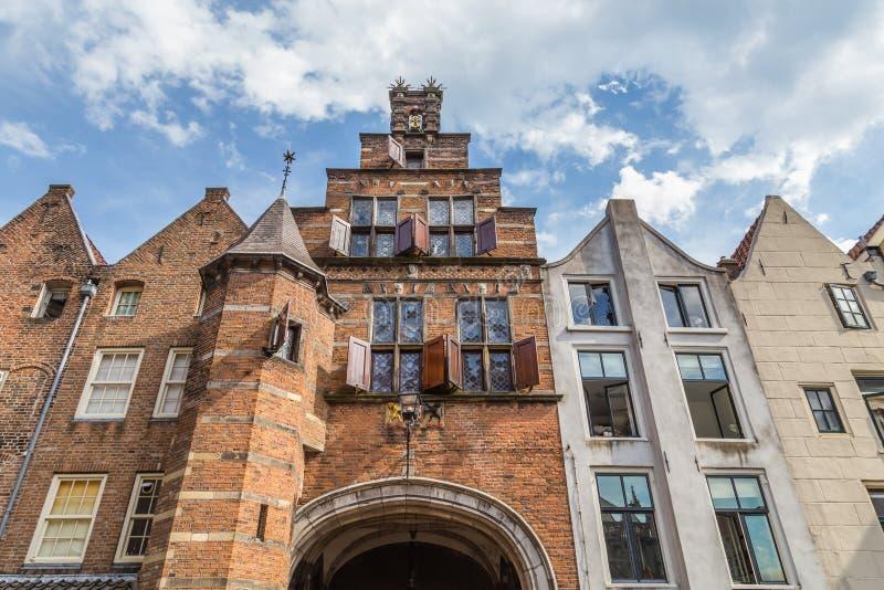 A porta de Stevens em Nijmegen, Países Baixos fotografia de stock