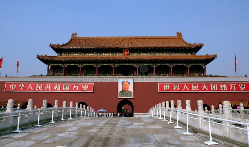 Porta de Tienanmen foto de stock royalty free