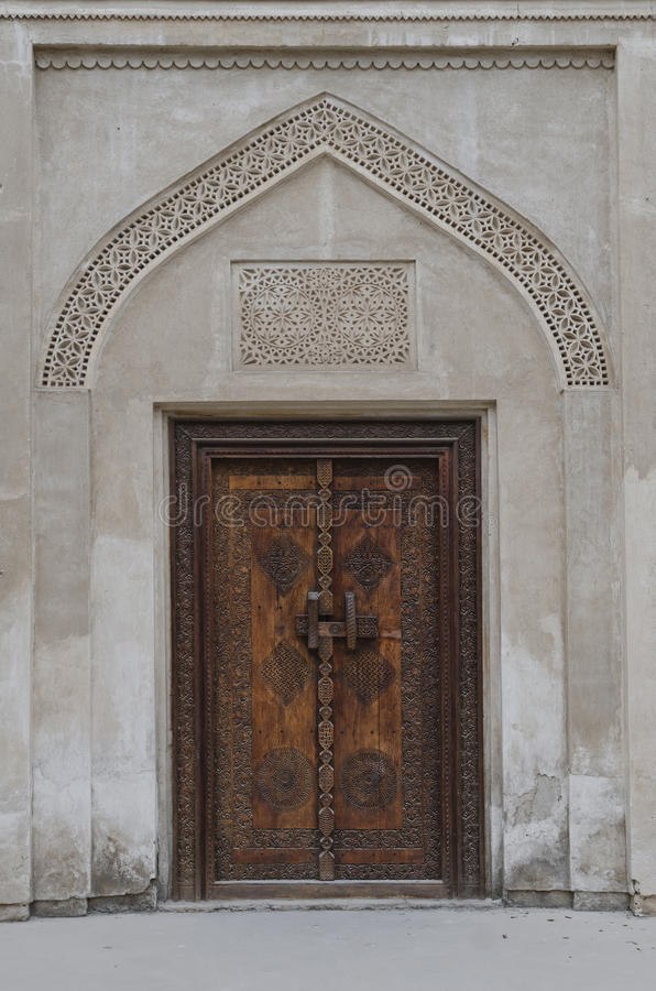 Porta araba tradizionale immagini stock libere da diritti