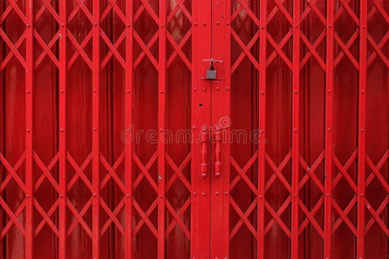 Porta del ferro fotografie stock