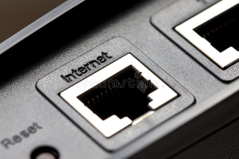 Porta del Internet fotografia stock