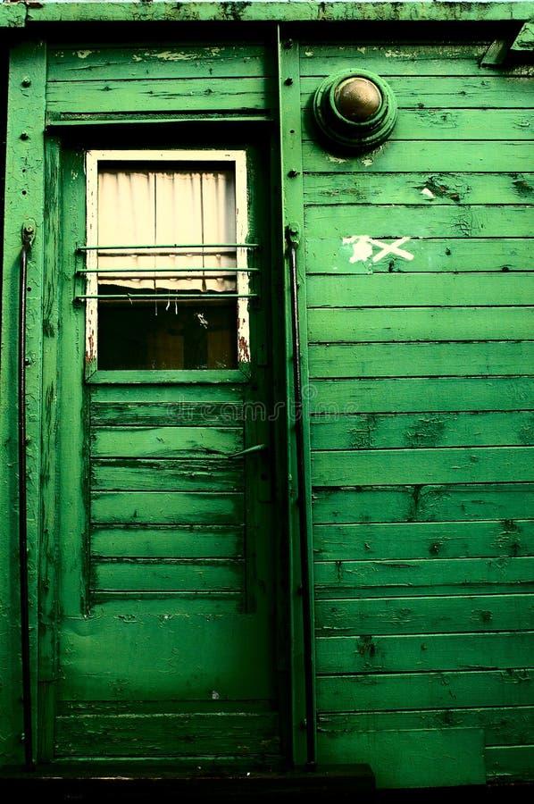 Porta del trasporto di lerciume fotografia stock