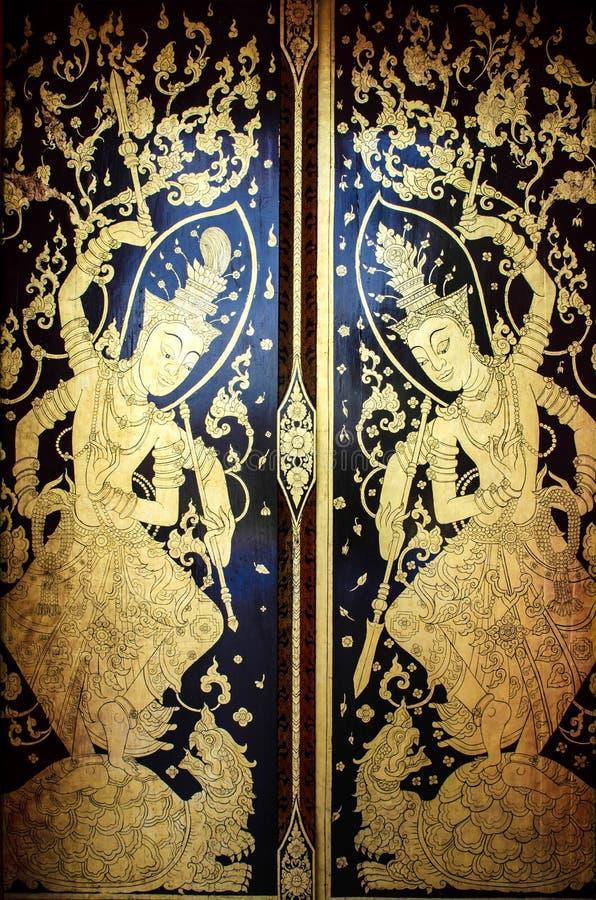 Download Porta Della Chiesa In Tempio Tailandia Immagine Stock - Immagine di coltura, antico: 55361331