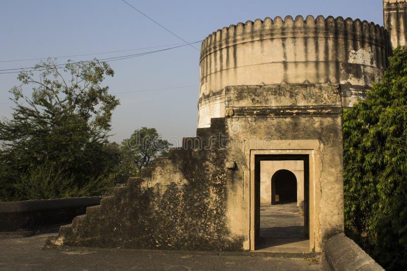 Porta dentro da porta - forte de Bhadra fotografia de stock royalty free