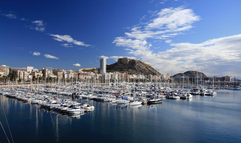 Porta di Alicante fotografia stock