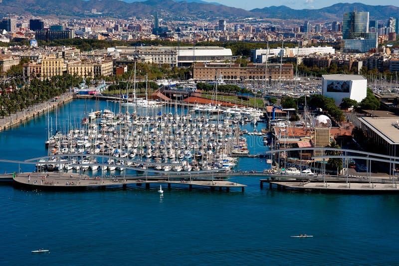 Porta di Barcellona fotografia stock libera da diritti