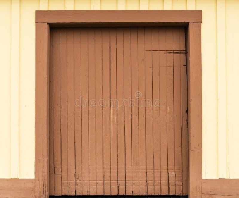 Porta di granaio fotografie stock