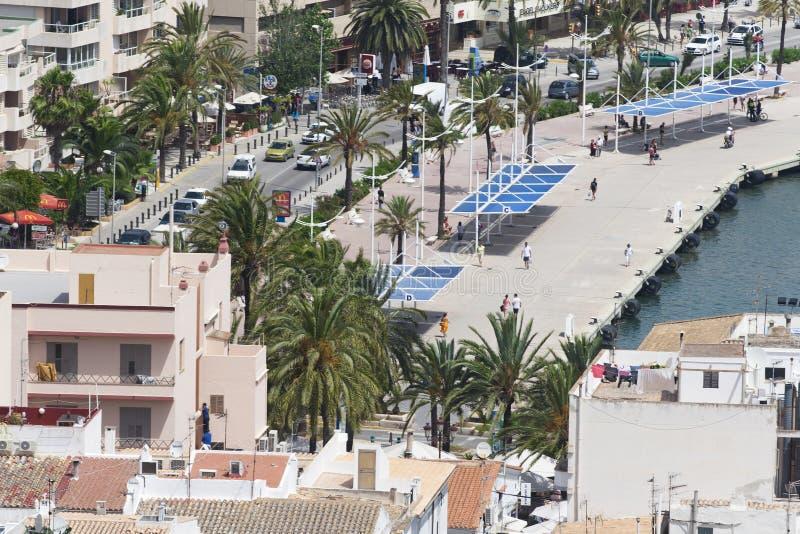 Porta di Ibiza immagine stock libera da diritti
