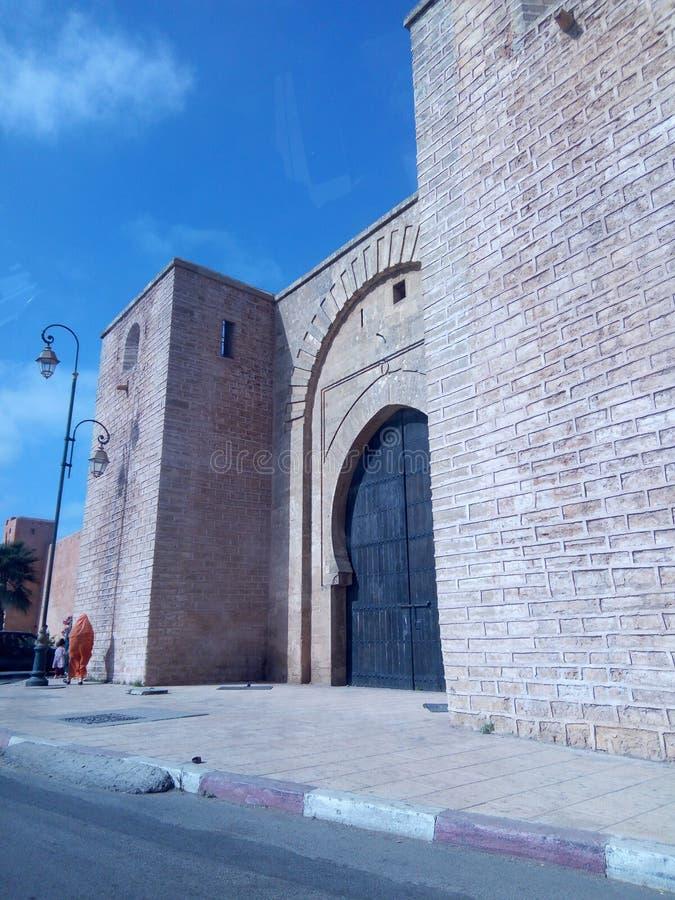 Porta di Laalou a Rabat fotografia stock