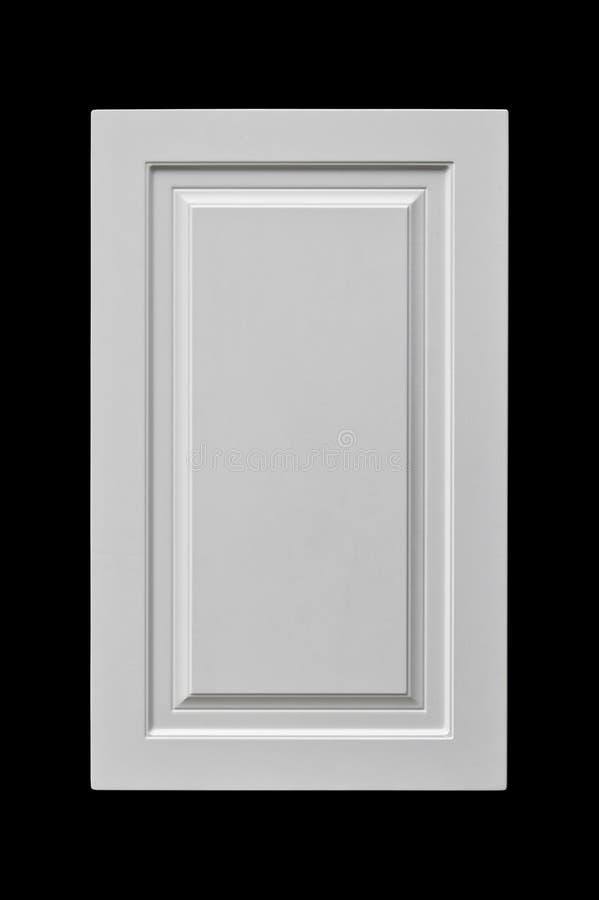 Porta di legno decorativa dell'armadio da cucina immagini stock libere da diritti