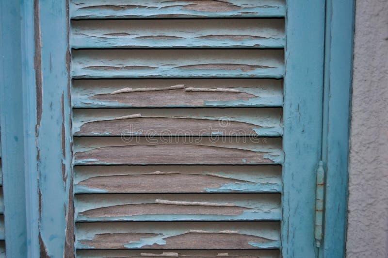 Porta di legno rotta fotografia stock