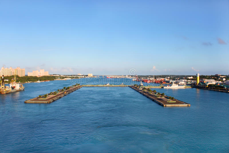 Porta di Nassau fotografia stock libera da diritti