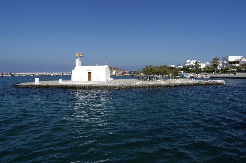 Porta di Naxos fotografia stock